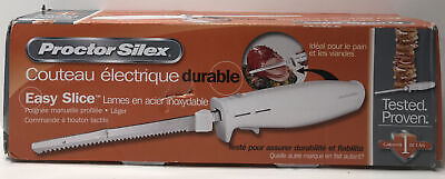 Sharp Electric Carving Knife Stainless Steel Blade Bread and Turkey Slice Knives