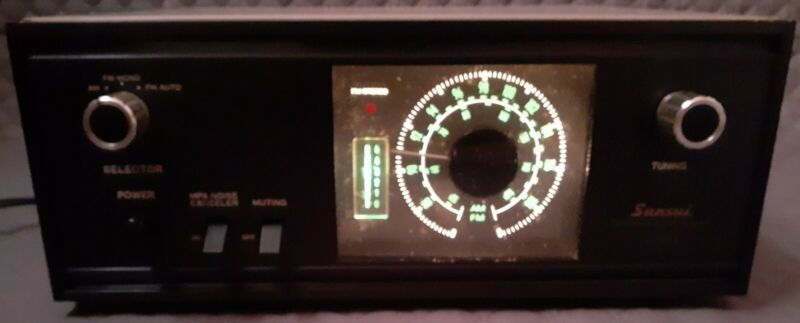 Vintage Sansui Stereophonic Tuner TU-555 made in Japan. Working tested.