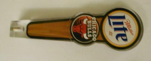 Miller Lite CHICAGO BULLS tap handle