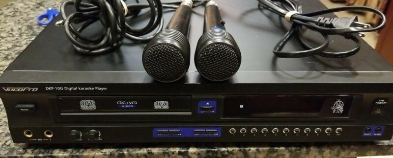 VocoPro DKP-10G Home Theater Digital CDG VCD Audio Video Karaoke Player System