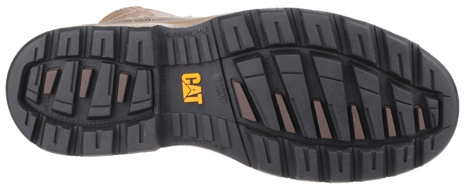 Détails sur CAT Caterpillar Pelton Bottes Sécurité Mens Industriel Chaussures Travail UK6 12