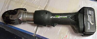 Gator By Greenlee Esg25l Cutting Tool W Makita 3.0ah 18v Li-ion Battery