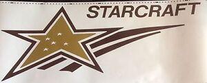 Starcraft Decals  RV sticker decal graphics trailer camper rv Made in the USA