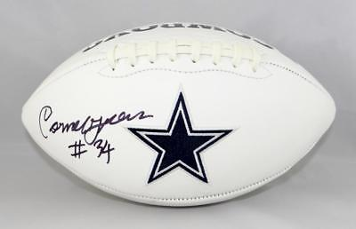 d881a3a0f Cornell Green Autographed Dallas Cowboys Logo Football- Jersey Source Auth
