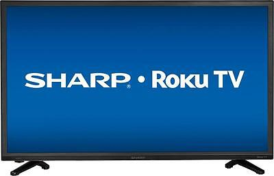 "Open-Box Excellent: Sharp - 32"" Class (31.5"" Diag.) - LED - 720p - Smart - HD..."