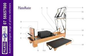 PILATES REFORFERS AND EQUIPMENT | PAYMENT PLANS | PILATES WORLD North Sydney North Sydney Area Preview