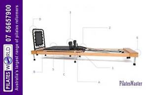 The New 2016 PILATES MASTER PM-F-01 FOLD UP REFORMER on special Adelaide CBD Adelaide City Preview