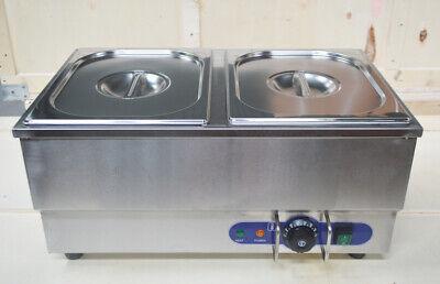 Techtongda 110v Commercial Hot Dog Steamer Bun Warmer Stainless Steel