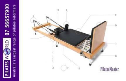 PM FOLD 02   PILATES EQUIPMENT   PILATES REFORMER   FREE DELIVERY