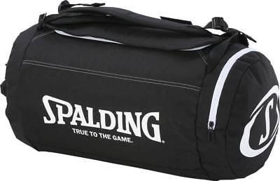 Spalding Duffle Bag Basketball Sporttasche mit Rucksackfunktion schwarz-weiß NEU