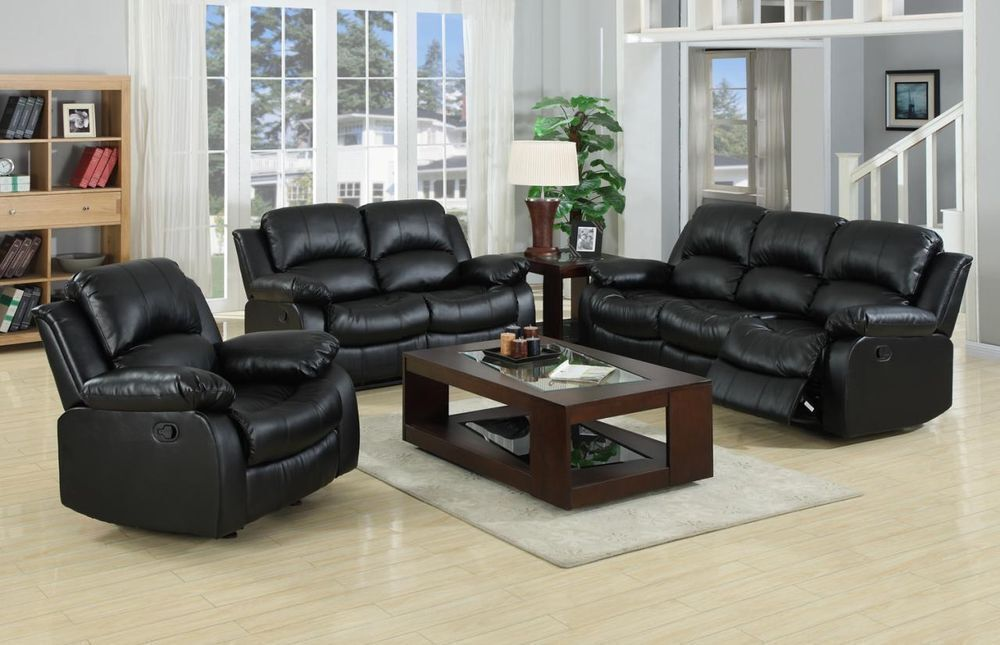 Merveilleux Real Bonded Leather Bentley Recliner Sofa Set Or Corner Unit   RRP OVER  £1200!