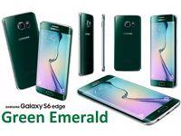 Samsung Galaxy S6 Edge 32GB Sim Free Smartphone - Green Emerald