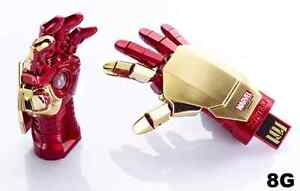 MARVEL IRONMAN 3 MARK 42 HAND (8G) USB LED LIGHT FLASH DRIVE NEW!!! 2013