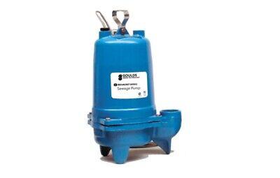 Goulds Ws0511b 12hp Submersible Sewage Pump