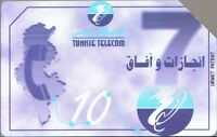 Phone Card Tunisie Telecom , 25 Unites - Carta Telefonica - telefonica - ebay.it