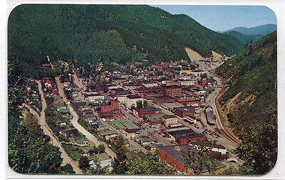 Panorama Wallace Coeur Dalene Mining District Idaho 1950S Postcard