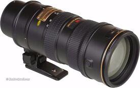 Wanted Nikon 70-200