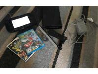 Wii U console, extra controller and games mario kart 8 and Ben 10, boxed & in perfect condition