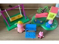 Peppa pig park set