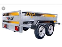Wanted erde 234x4 trailer