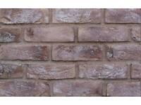 Derwent brown brick slip tile