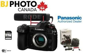 NEW! Panasonic Lumix DC-G9 Body - BUNDLE