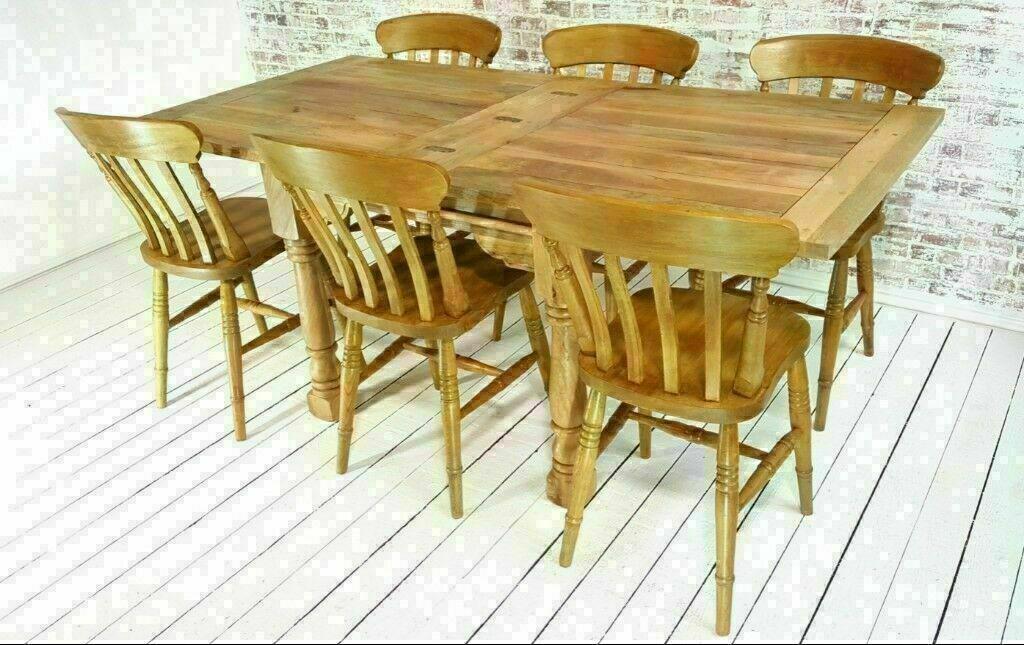 Extending Rustic Farmhouse Dining Table Set Drop Leaf Folding