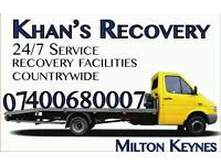 BREAKDOWN RECOVERY SERVICE 24/7 FROM £25