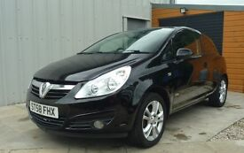 Vauxhall Corsa 1.2 SXI Black Low Miles Low Insurance