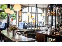 Floor staff wanted for Notting Hill Gastro pub
