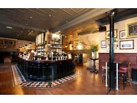 The Golden fleece . A popular Pub & dining requires charasmatic & enthusiastic bar & waiting staff.