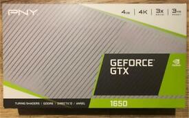 PNY GeForce GTX1650 NVIDIA Graphics Card GPU 4K *NEW and Sealed*