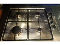 Very good condition Ariston stainless steel gas hob for sale!!