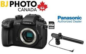 NEW LUMIX GH5 BODY + BUNDLE (1 YEAR PANASONIC WARRANTY)