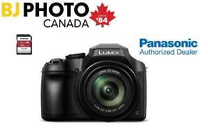 PANASONIC LUMIX FZ80 CAMERA BLACK + 32GB TOSHIBA MEMORY CARD (PANASONIC CANADA FULL WARRANTY)