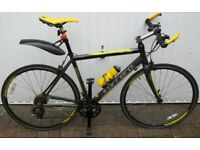 Halford's Carrera 6061 T6 Limited Edition Road Bike, 14-Speed, 51cm Fr
