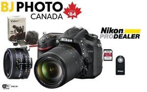 Nikon D7200 Kit 18-140 VR + 50mm f1.8D - Boxing Week Flyer Promo