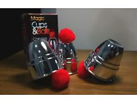 Magic Cups and Balls - Legendary Magic trick Number 1. Great for a present or for self-practice!