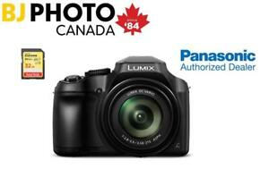 PANASONIC LUMIX FZ80 CAMERA + MEMORY CARD