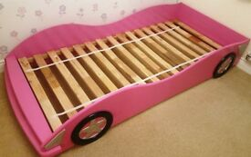 Racing Car Bed in Pink