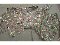 British Army Jacket in woodland DPM Issued, Used grade1 (womans/cadet sizes)
