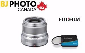 Fujifilm XF 35mm F2 R WR Lens - BUNDLE
