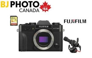FUJIFILM X-T30 CAMERA BODY - BUNDLE (XT30) +Save $370 on choice of 23, 35, 50mm f2 WR lenses - INTRODUCTORY OFFER