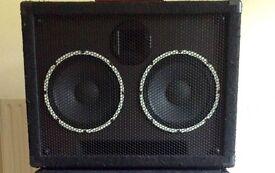 Behringer Ultrabass BA210 2x10 bass cabinet speaker