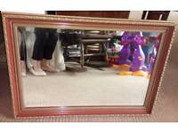 Gorgeous Quality Large Bevelled Mirror 54 x 76cms