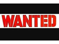 wanted vauxhall brava/ isuzu pickup/ isuzu trooper/ vauxhall frontera
