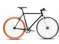 Custom 80's Style Fixie Mango Bike
