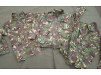 British Army Jacket in woodland DPM Issued, Used grade1 (womens/cadet sizes) ... 2 left