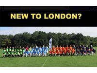 NEW TO LONDON? PLAYERS WANTED FOR FOOTBALL TEAM. FIND A SOCCER TEAM IN LONDON. Ref: e43e