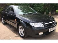 MAZDA 323F GSI, 2002, 1.6 PETROL, AUTOMATIC, 5 DOOR, BLACK, 34,740 MILES FROM NEW! LOVELY EXAMPLE!!